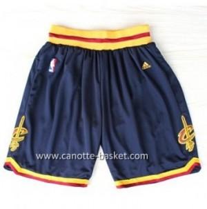 pantaloncini nba Cleveland Cavalier blu marino