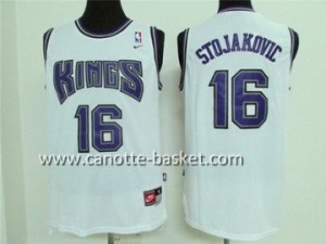 Maglie nba Sacramento Kings Peja Stojakovic #16 bianco