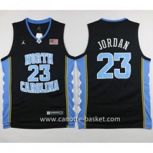 Maglie nba NCAA University of North Carolina Michael Jordan #23 nero