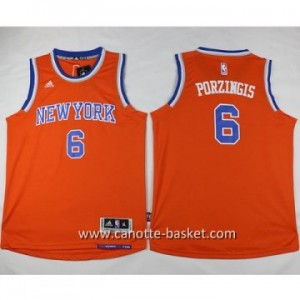 Maglie nba bambino New York Knicks Tyson Chandler #6 arancione