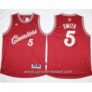 Maglie nba bambino Cleveland Cavalier Josh Smith #5 rosso