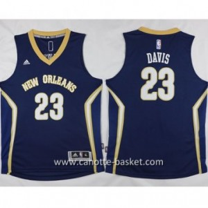 Maglie nba bambino New Orleans Pelicans Anthony Davis #23 blu