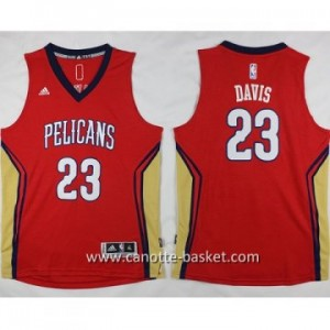 Maglie nba bambino New Orleans Pelicans Anthony Davis #23 rosso