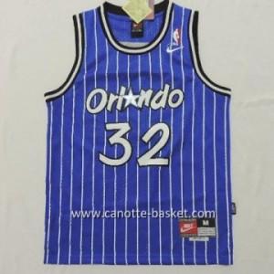 maglia nba bambino Orlando Magic Shaquille O'Neal #32 blu