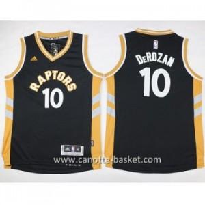 Maglie nba bambino Toronto Raptors DeMar DeRozan #10 nero