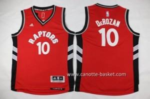 Maglie nba bambino Toronto Raptors DeMar DeRozan #10 rosso