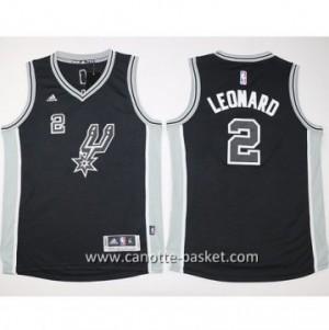 Maglie nba bambino San Antonio Spurs Kawhi Leonard #2 nero
