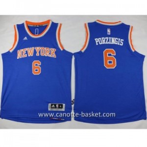 Maglie nba bambino New York Knicks Tyson Chandler #6 blu