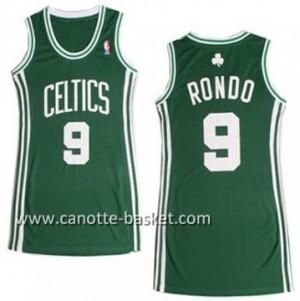 Maglie nba Donna Boston Celtics Rajon Rondo #9 verde