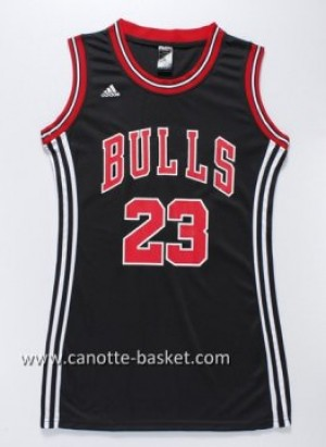 Maglie nba Donna Chicago Bulls Michael Jordan #23 nero