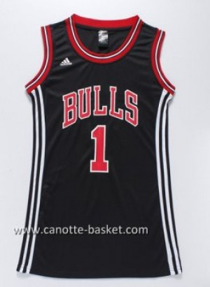 Maglie nba Donna Chicago Bulls Derrick Rose #1 nero