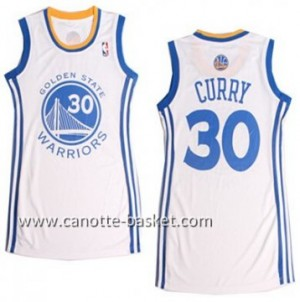 Maglie nba Donna Golden State Warriors Stephen Curry #30 bianco