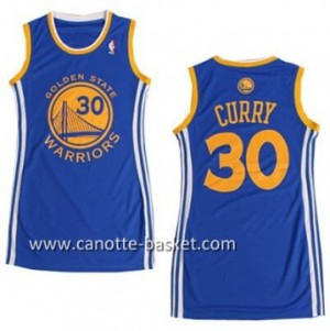 Maglie nba Donna Golden State Warriors Stephen Curry #30 blu
