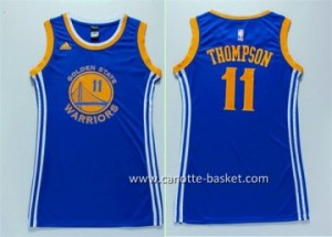 Maglie nba Donna Golden State Warriors Klay Thompson #11 blu
