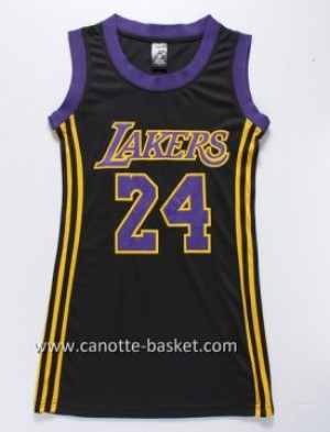 Maglie nba Donna Los Angeles Lakers Kobe Bryant #24 nero