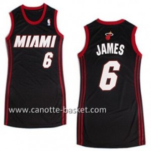 Maglie nba Donna Miami Heat LeBron James #6 neo