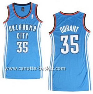 Maglie nba Donna Oklahoma City Thunder Kevin Durant #35 blu