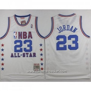 Maglie 1985 All-Star Michael Jordan #23 bianco