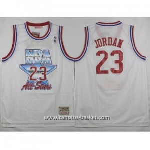 Maglie 1993 All-Star Michael Jordan #23 bianco