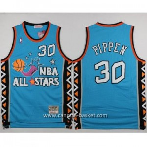 Maglie 1996 All-Star Scottie Pippen #30 blu