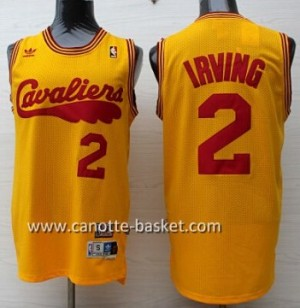 Maglie nba Cleveland Cavalier Kyrie Irving #2 giallo