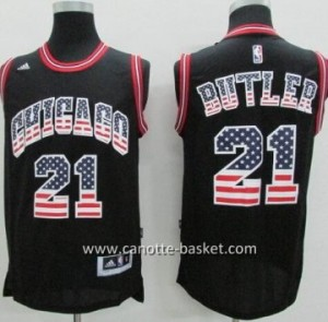 Maglie nba Chicago Bulls Jimmy Butler #21 Flag Edition