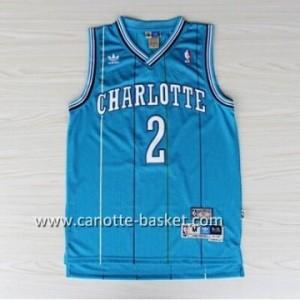 Maglie nba New Orleans Pelicans Magic Johnson #2 blu