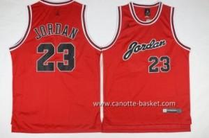 Maglie nba Michael Jordan #23 rosso commemorative Edition