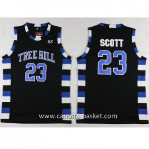 Maglie TREE HILL SCOTT #23 nero