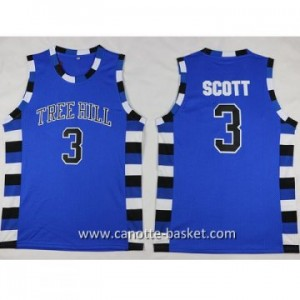 Maglie TREE HILL SCOTT #3 blu