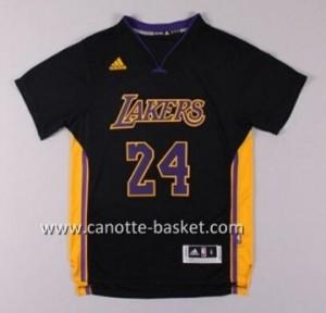 Maglie nba Los Angeles Lakers Kobe Bryant #24nero manica corta