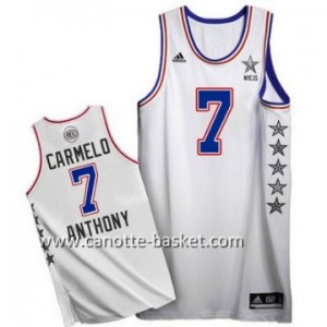 Maglie 2015 All-Star Carmelo Anthony #7 bianco