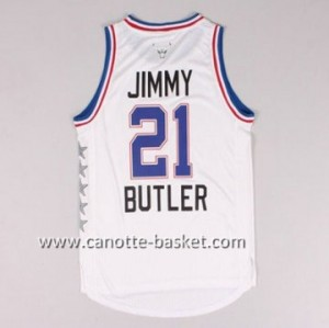 Maglie 2015 All-Star Jimmy Butler #21 bianco