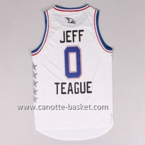 Maglie 2015 All-Star Jeff Teague #0 bianco