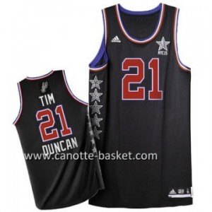 Maglie 2015 All-Star Tim Duncan #21 nero