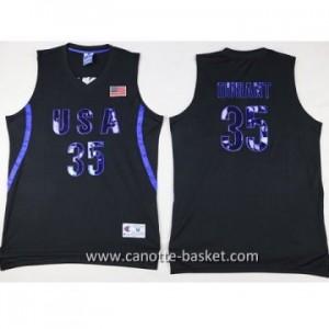 maglie basket 2016 USA Kevin Durant #35 nero