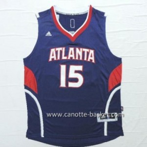 Maglie nba Atlanta Hawks Al Horford #15 blu marino