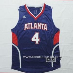 Maglie nba Atlanta Hawks Spud Webb #4 blu marino