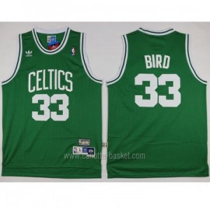 Maglie nba Boston Celtics Larry Bird #33 verde