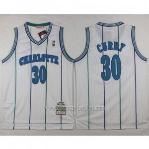 Maglie nba Charlotte Hornet Dell Curry #30 bianco