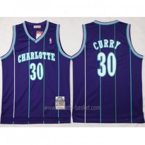 Maglie nba Charlotte Hornet Dell Curry #30 porpora