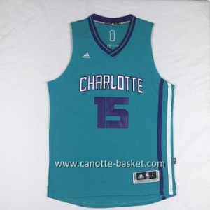 Maglie nba Charlotte Hornet Kemba Walker #15 verde