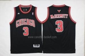 Maglie nba Chicago Bulls Doug McDermott #3 nero