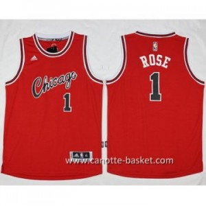Maglie nba Chicago Bulls Derrick Rose #1 rosso