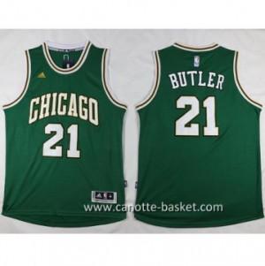 Maglie nba Chicago Bulls Jimmy Butler #21 verde