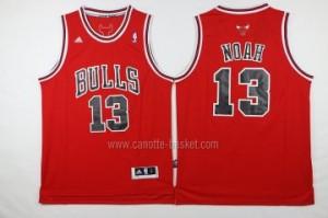 Maglie nba Chicago Bulls Joakim Noah #13 rosso