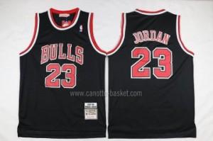 Maglie nba Chicago Bulls Michael Jordan #23 classico nero
