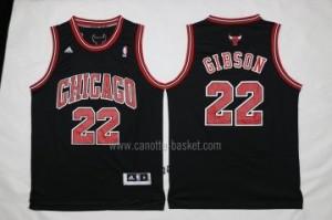 Maglie nba Chicago Bulls Taj Gibson #22 nero
