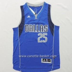 nuovo Maglie nba Dallas Mavericks Chandler Parsons #25 blu