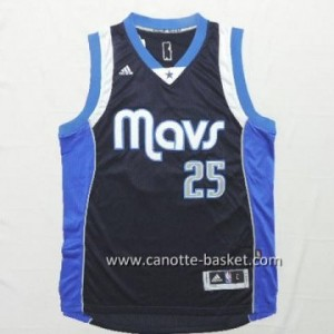 nuovo Maglie nba Dallas Mavericks Chandler Parsons #25 blu marino